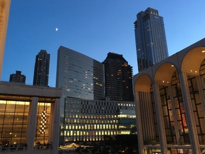 Lincoln Center, evening of July 29