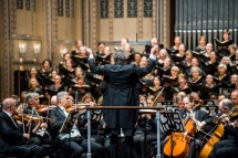 Welser-Möst conducting The Cleveland Orchestra, Chorus, and soloists